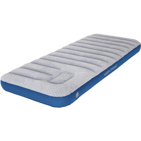 High Peak Air bed Cross Beam Single Extra Long Liggeunderlag, light grey/blue